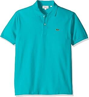 Lacoste Short Sleeve Pique L.12.12 Classic Fit Polo Shirt, L1212, Artesian Blue, X-Small