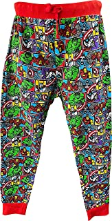 MARVEL Mens Comics Lounge Pants Pyjama Bottoms S to XL
