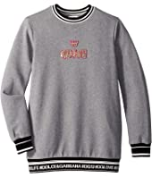 Dolce & Gabbana Kids - Queen Sweatshirt (Big Kids)