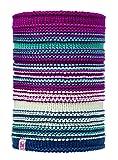 Buff Kinder Junior Knitted und Polar Neckwarmer Multifunktionstuch, Amity Pink C