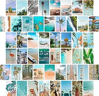 TROOPIC - 50 foto's voor aesthetic wanddecoratie - Zomerstrandcollectie - Matte afwerking - 10,2 x 15,2 cm - Dikte 300 g /...