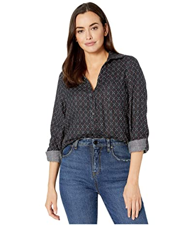 Jag Jeans Long Sleeve Adley Double Cloth Button Up Shirt (Autumn Diamond) Women