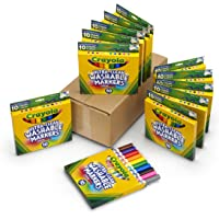 Deals on 12-Pack Crayola Ultra Clean Washable Markers