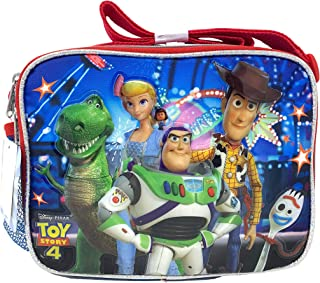 Disney Toy Story 4 Lunch Box Travel Luggage Picnic Bag Packaged with crayon (Lunch Box)