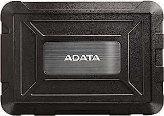 ADATA ED600 - externe behuizing voor SATA-harde schijven met USB 3.2 Gen.1, IP54, water- en stof- en schokbestendig, zwart
