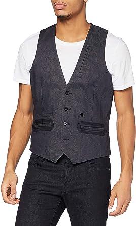 G-STAR RAW Men's Tuxedo Waistcoat Casual Blazer