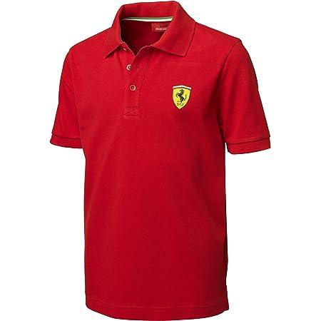 Ferrari Red Size-92 Kids' Polo Shirt