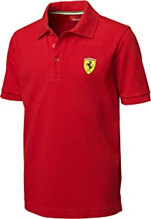 Ferrari Red Size-92 Kids' Polo Shirt
