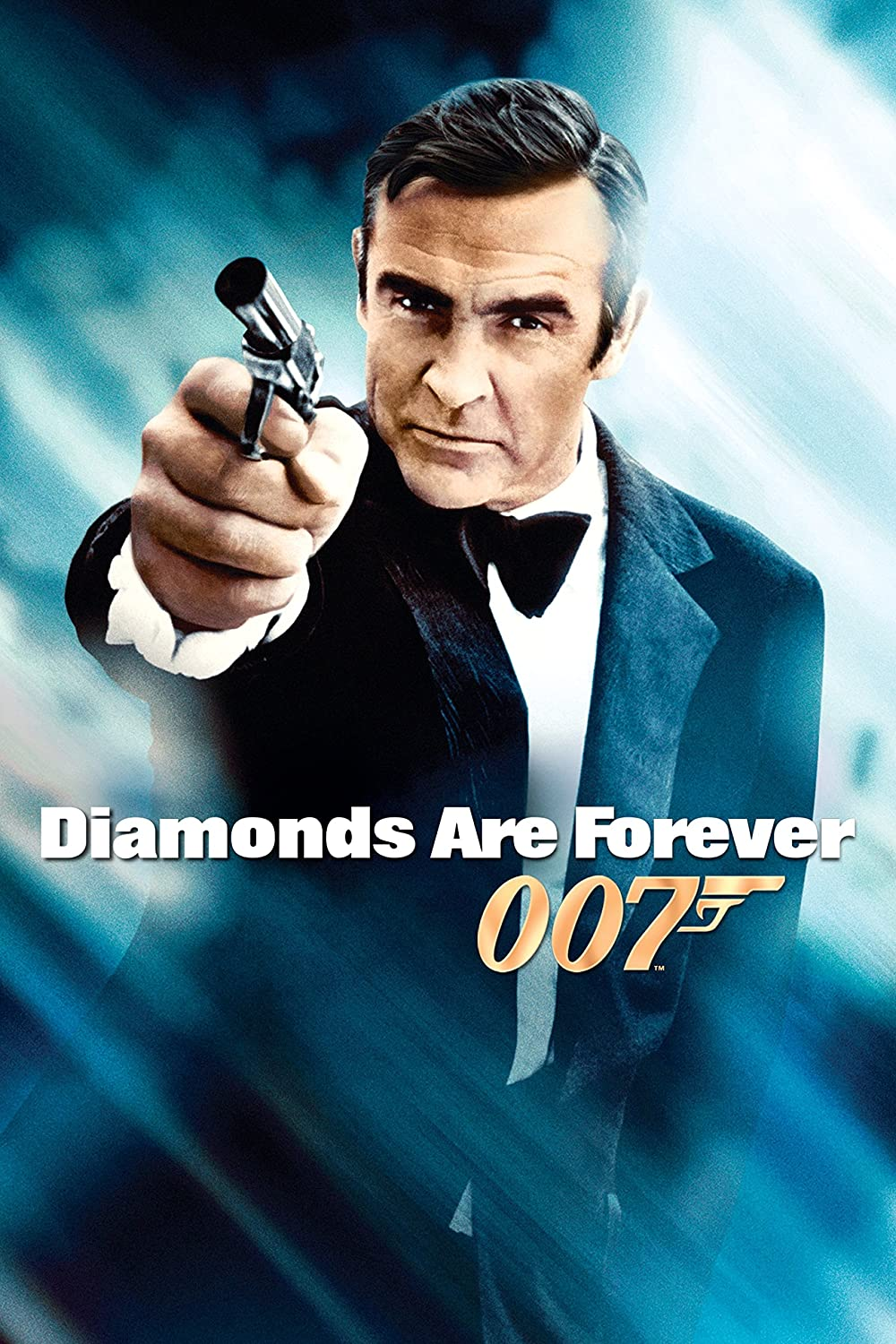 Black Creations Diamonds Are Forever 3 Movie Poster Canvas Picture Art Print Premium Quality A0 A1 A2 A3 A4 (A0 Canvas (30 40))