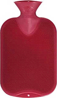 Fashy Hot Water Bottle Cranberry - Made in Germany