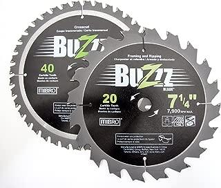Mibro 431840 Carbide Tipped Circular Saw Blade Set