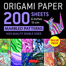 Origami Papers Marbled Patterns: Tuttle Origami Paper: High-Quality Double Sided Origami Sheets Printed with 12 Different ...