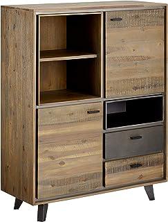 Ibbe Design Furniture Aparador Acacia marrón Doble 100x40x130