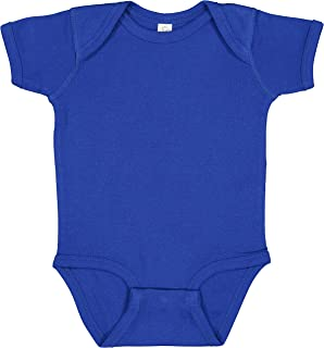 Rabbit Skins, Soft Baby Rib Short-Sleeve Bodysuit
