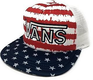 Drop V Americana Flag Stars Stripes Trucker Hat