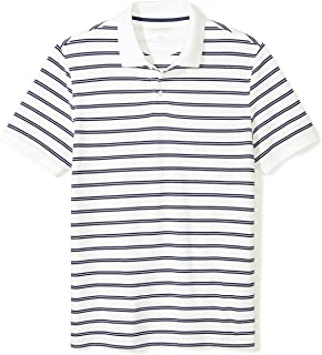 Best mens black and white striped polo shirt Reviews
