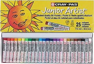 پاستل روغن هنرمند Sakura Cray-Pas Junior، مجموعه ای از رنگ ها، مجموعه ای از 25