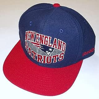 NEW England Patriots Flat Bill Snap Back Reebok Hat