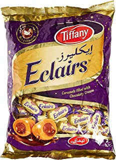 Tiffany Eclairs Caramels filled with Chocolaty Cream - 750 g