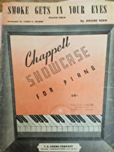 Smoke Gets in Your Eyes Piano Solo (Chappell Showcase for Piano)