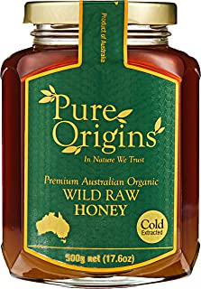 Pure Origins Wild Raw Honey, 500g