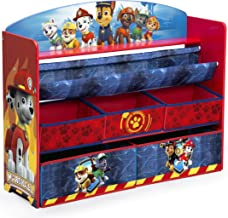 Delta Children Deluxe Book and Toy Organizer, Nick Jr. PAW Patrol