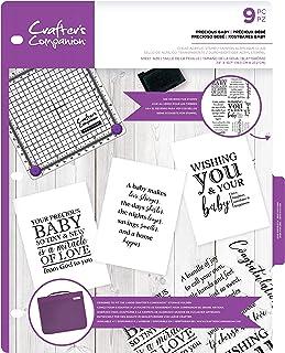 Crafter's Companion Tampons en acrylique transparent, Acrylique, Percious Baby, Taille unique