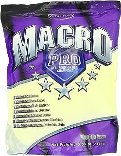 Syntrax Macro Pro, Vanilla Bean Powder, 5.59 Pounds