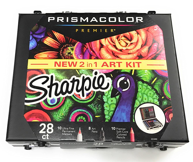 PRISMACOLOR PREMIER NEW 2 in 1 ART SHARPIE KIT 28 ct