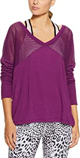 Lorna Jane Women's Movement Long Sleeve Top, Aubergine