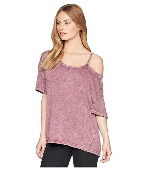 Free People Alex Tee Violet Cheap Amazing Price Free Shipping Affordable Cheap Price Wholesale Sale Cost DeMgM
