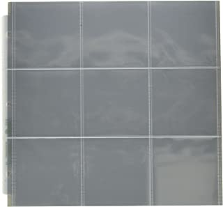 WR Memory Keepers 12 x 12 Inch (9 - 4 x 4 Inch Pockets) 3-Ring Album Photo Sleeve Protectors , 10/pkg