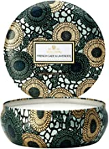product image for Voluspa French Cade Lavender 3 Wick Tin Candle, 12 ounces