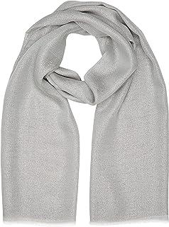 Trussardi Jeans Pashmina con Logo Allover Scialle Donna