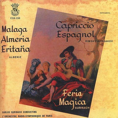 Amazon.com: Feria Magica: Overture: Carlos Surinach L ...