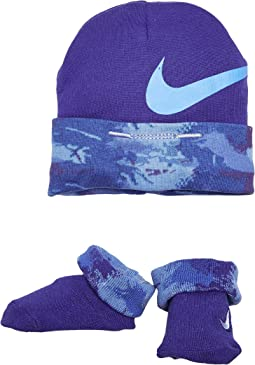 2-Pair Pack Primal Hat & Bootie (Infant)