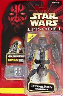 Star Wars Episode I Battle Damaged Destroyer Droid Action Fi