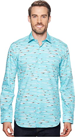 Shaped Fit Speed Boat Woven Shirt