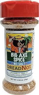 Big Axe Spice DREADNOT - Jamaican Jerk / Caribbean Seasoning Salt Free, Potassium Free, Gluten Free, Sugar Free, Preservative Free - Vegetarian Vegan Paleo Kosher & Halal Friendly