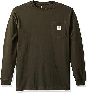 9fc5d14b3da6 Carhartt Men s Workwear Pocket Long Sleeve T Shirt K126