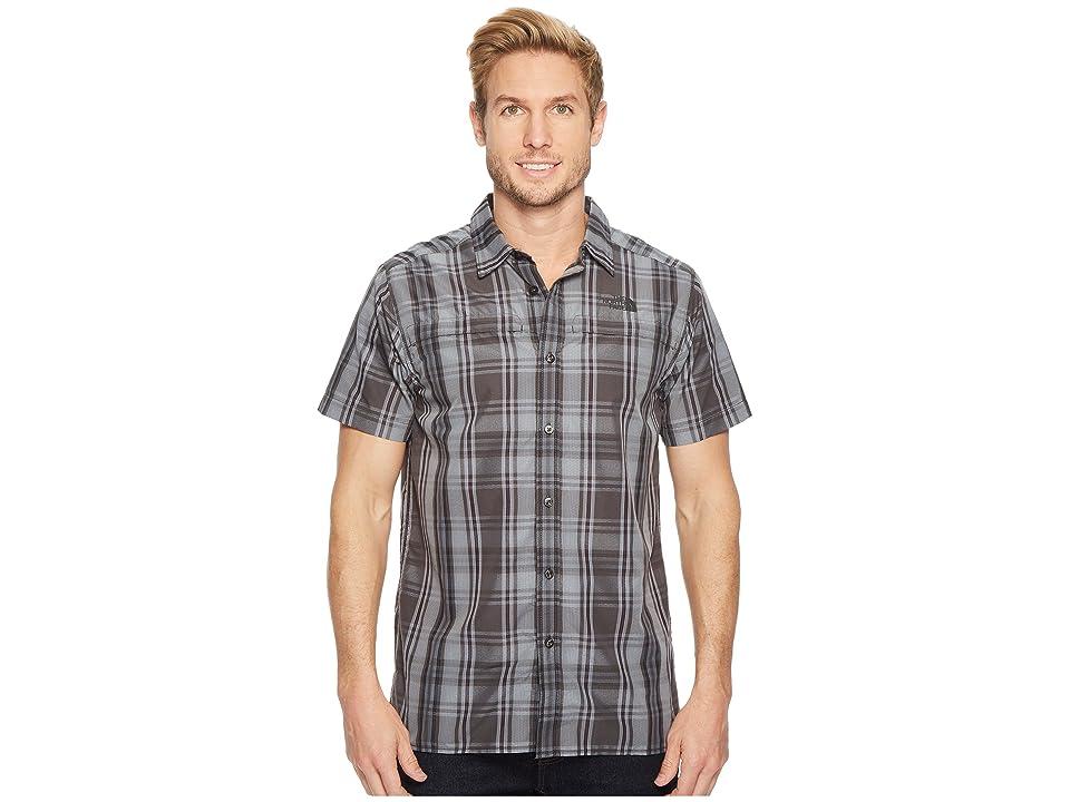The North Face Short Sleeve Vent Me Shirt (Asphalt Grey Plaid) Men