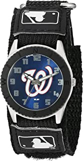 Game Time Youth MLB Rookie Black Watch - Washington Nationals