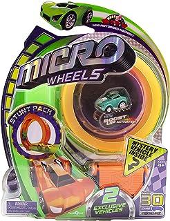 Micro Wheels Stunt Pack, Multi-Colour, 77734