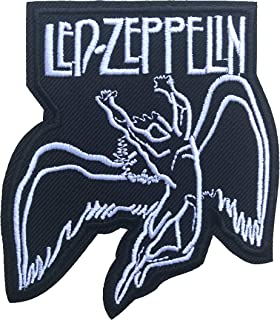 1 X Led Zeppelin Songs Music t Shirts Symbols ML05 Iron on Patches