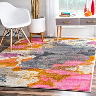 nuLOOM Contemporary Abstract Area Rug, 5' 3