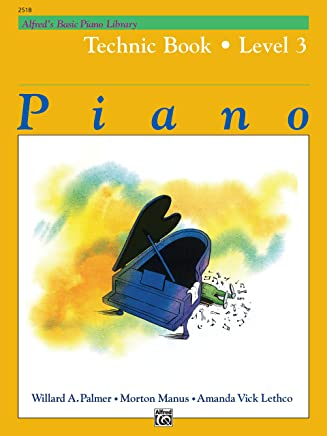Alfreds Basic Piano Library Technic Book: Level 3