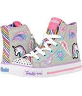 SKECHERS KIDS Twinkle Toes - Shuffles 10776L Lights (Little Kid/Big Kid)