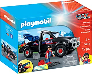 Playmobil Tow Truck Playset - 4 Years And Above, For 4 Years & Above