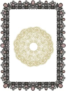 pink rhinestone picture frame