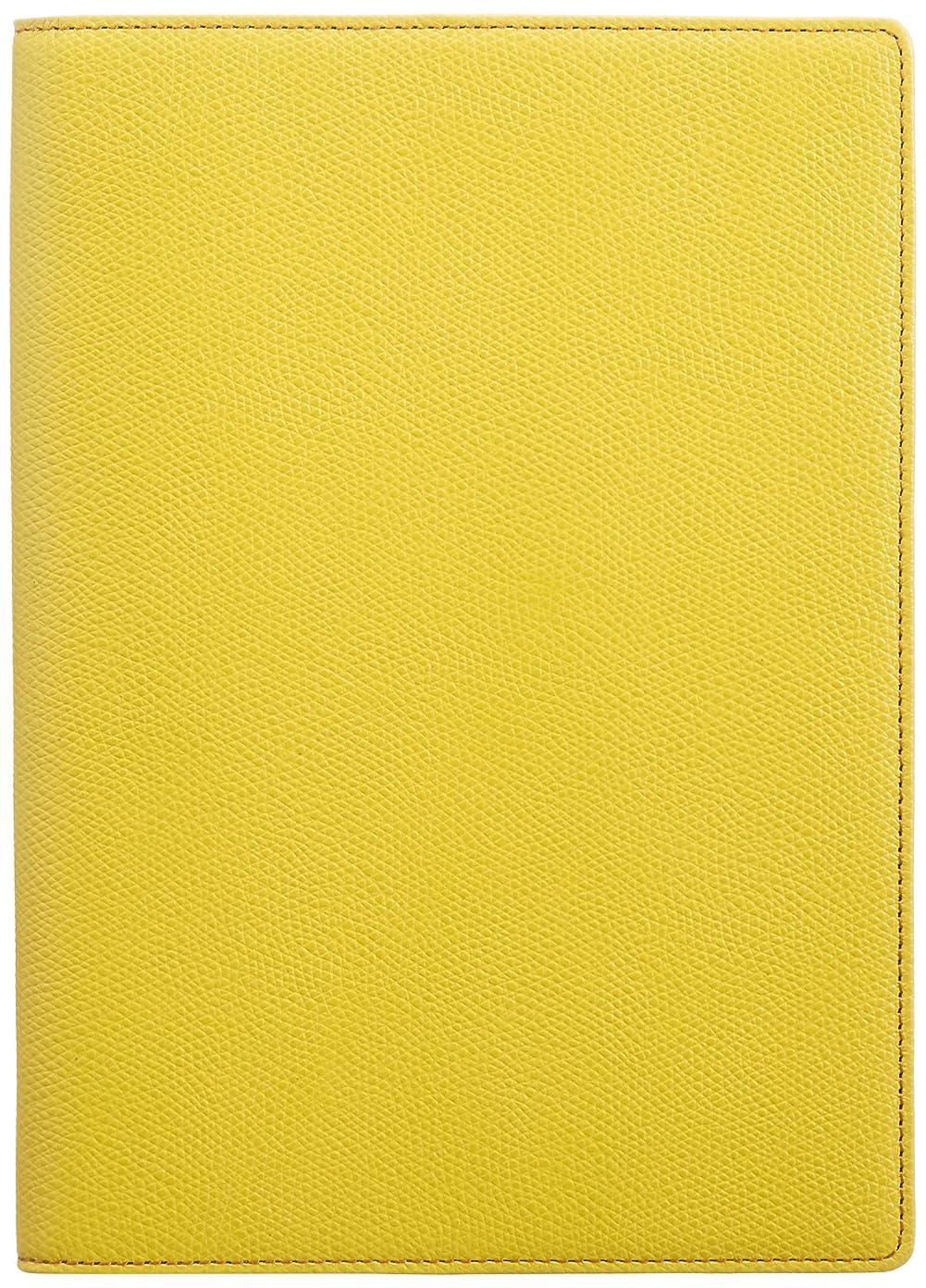 ほかにクリスチャンジョージエリオット*カラーチャート 手帳カバー A5 ペアグリーン